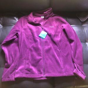 Columbia fleece zip jacket [[size XL]]